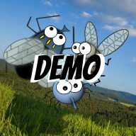 Flies, fly away! DEMO logo
